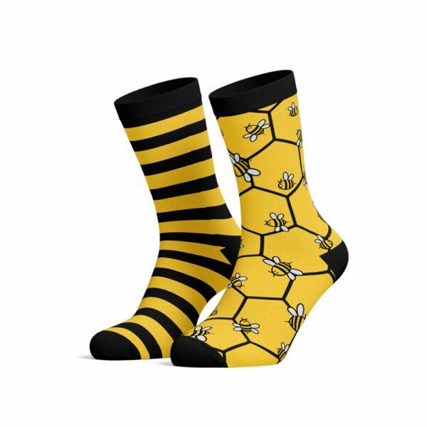 bee socks blessed socks