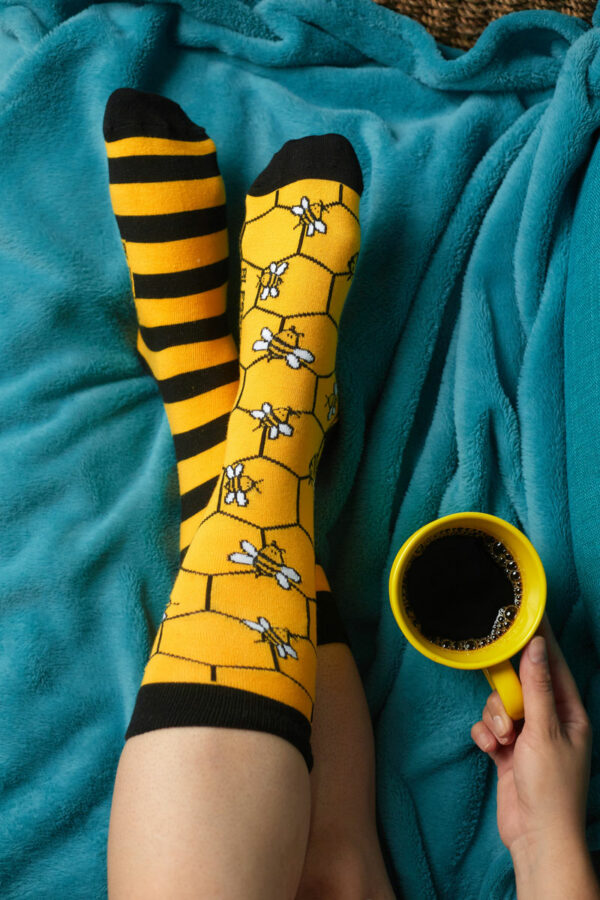 calcetines abejas