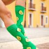 calcetines de aguacate