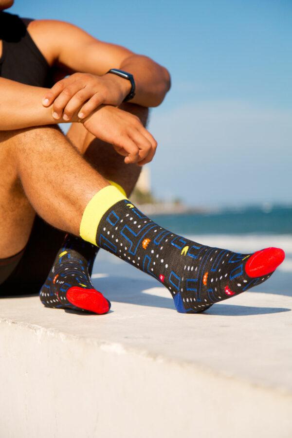 calcetines de pacman