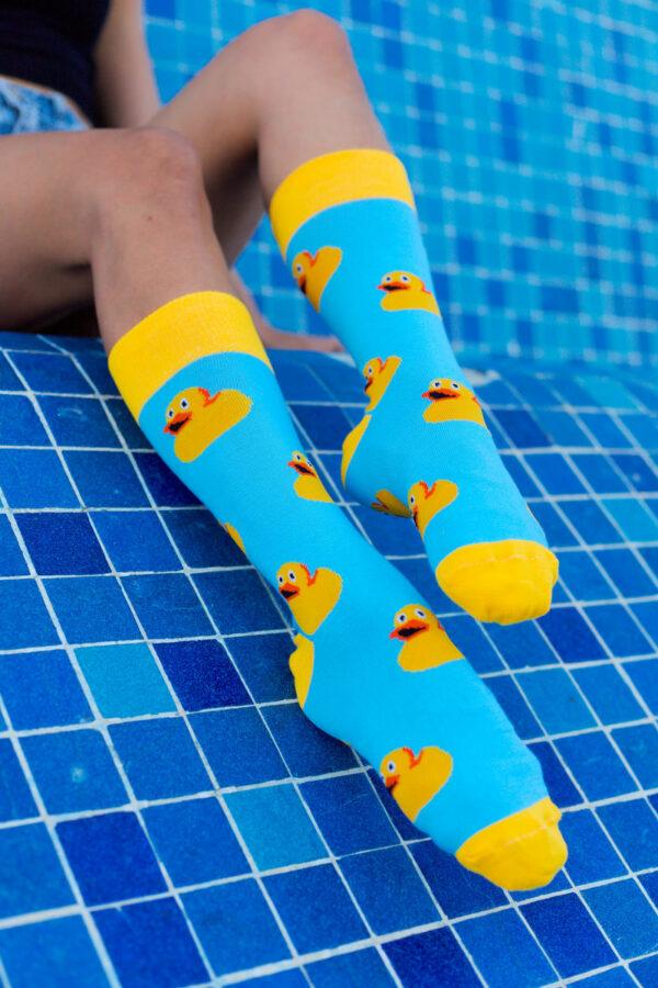 calcetines patito de hule