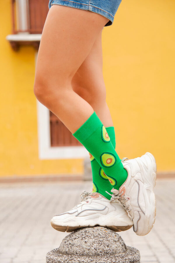 calcetines de aguacates