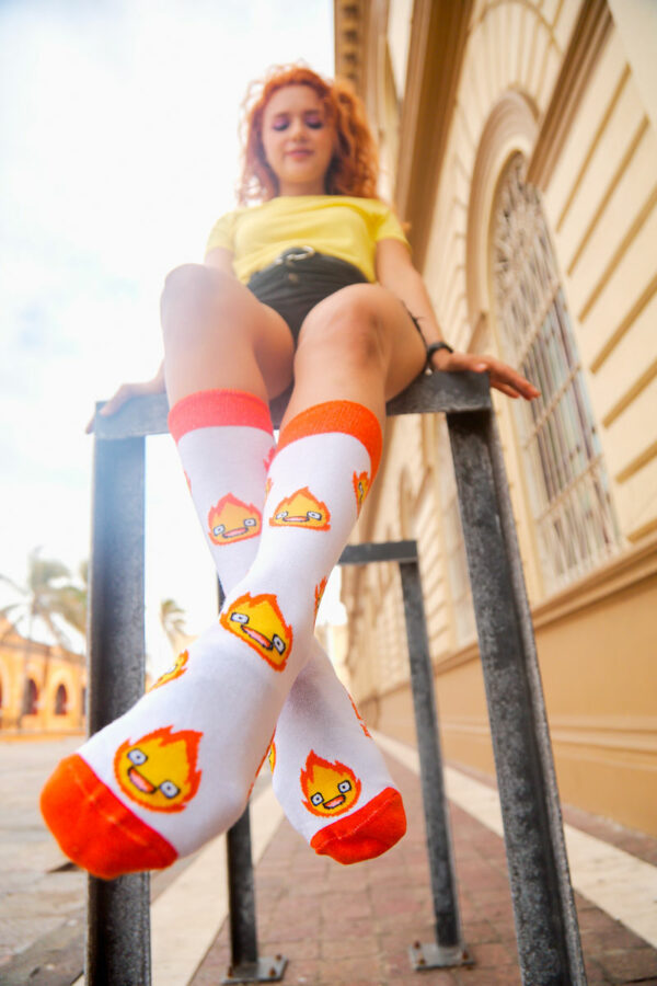 calcetines mujer calcifer