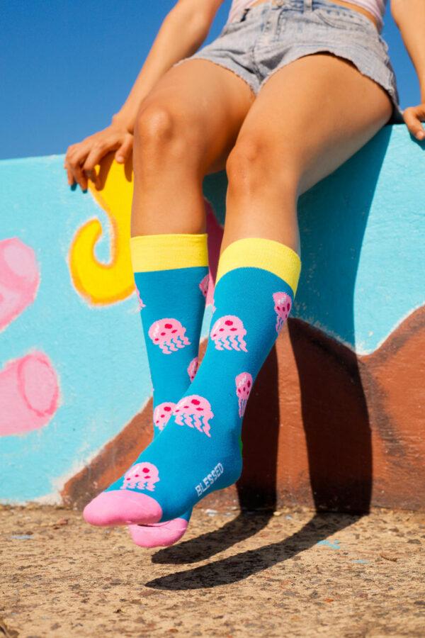 calcetines medusas de bobesponja