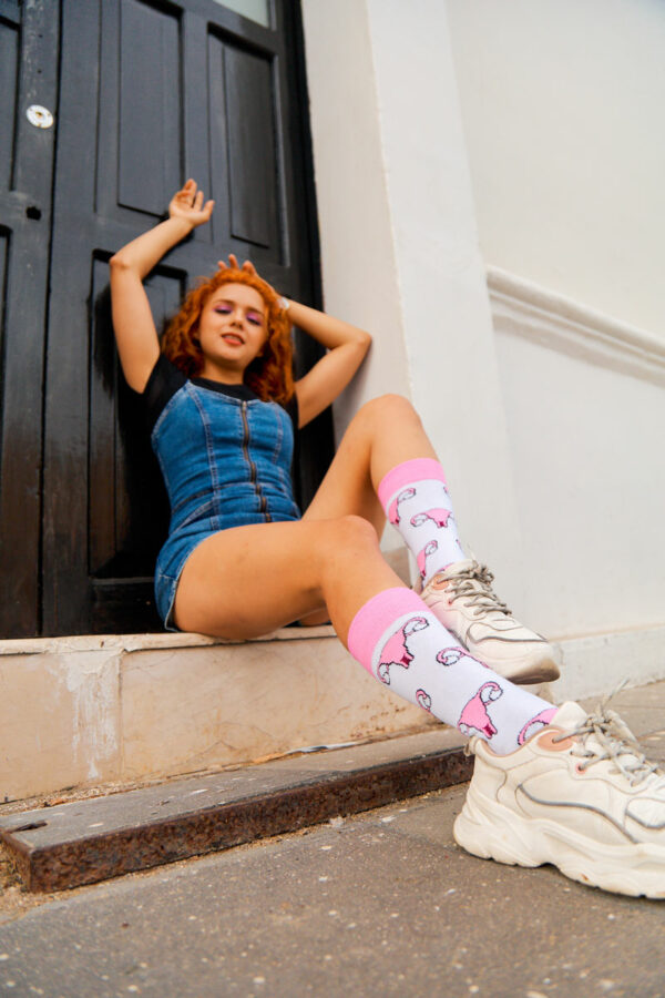 calcetines de utero