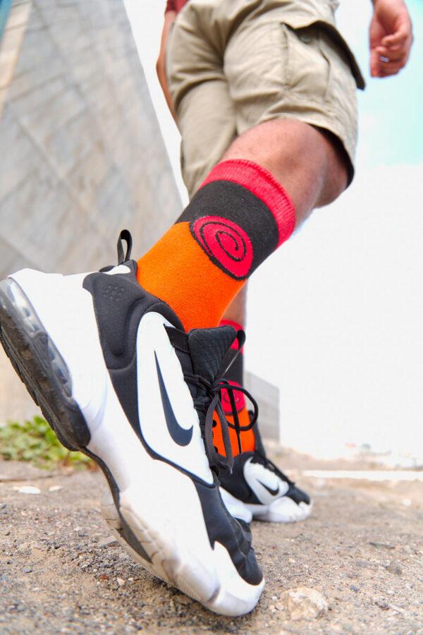 calcetines naruto uzumaki