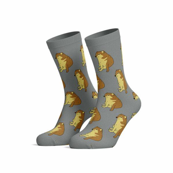 cheems socks