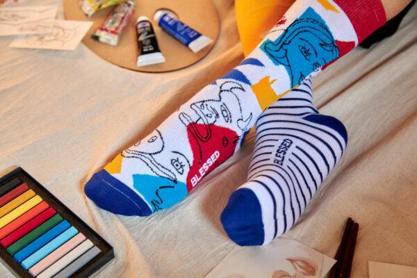 calcetines de arte picasso
