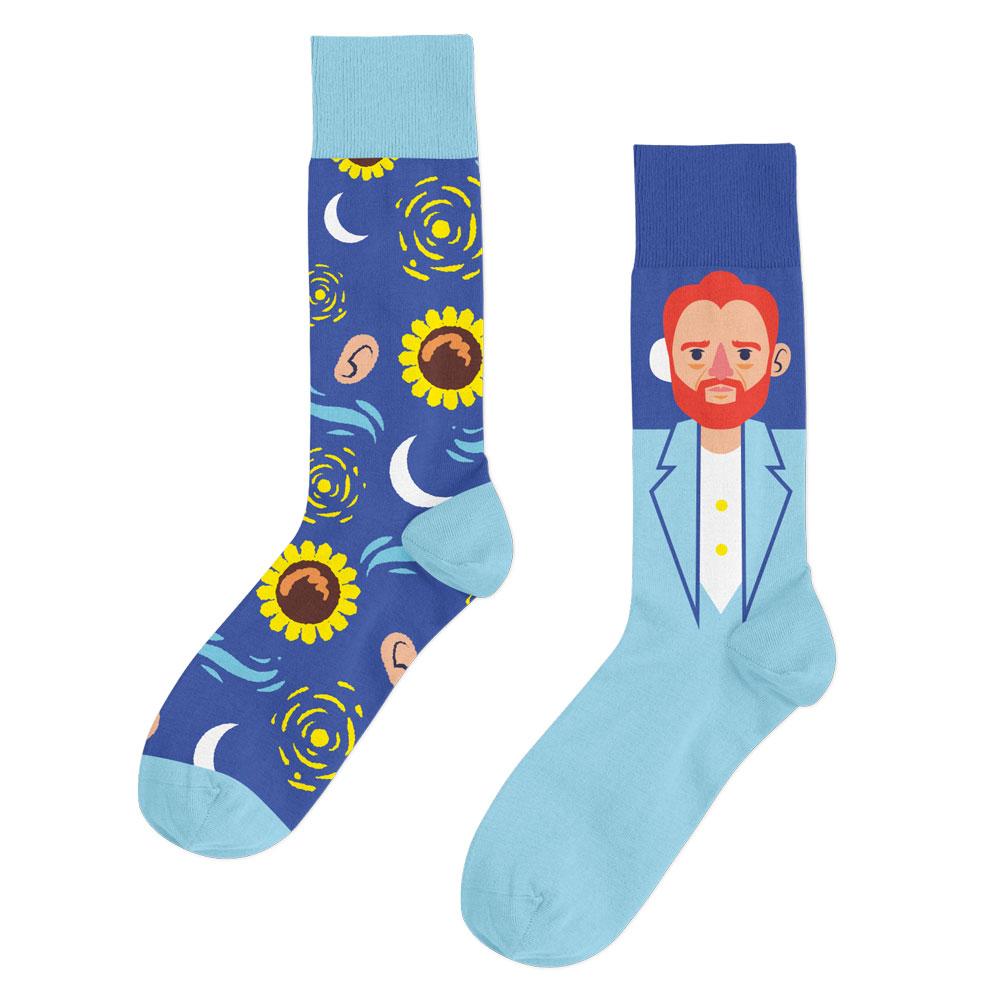 calcetas van gogh arte